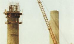 Kule Kolonlarında Kayar Kalıp Çalışmaları