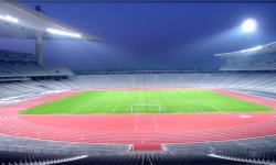 İstanbul Atatürk Olimpiyat Stadı Atletizm Pisti 2