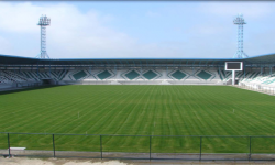 Azerbeycan Hazer Lenkaren Stadı Tabii Çim Uygulaması